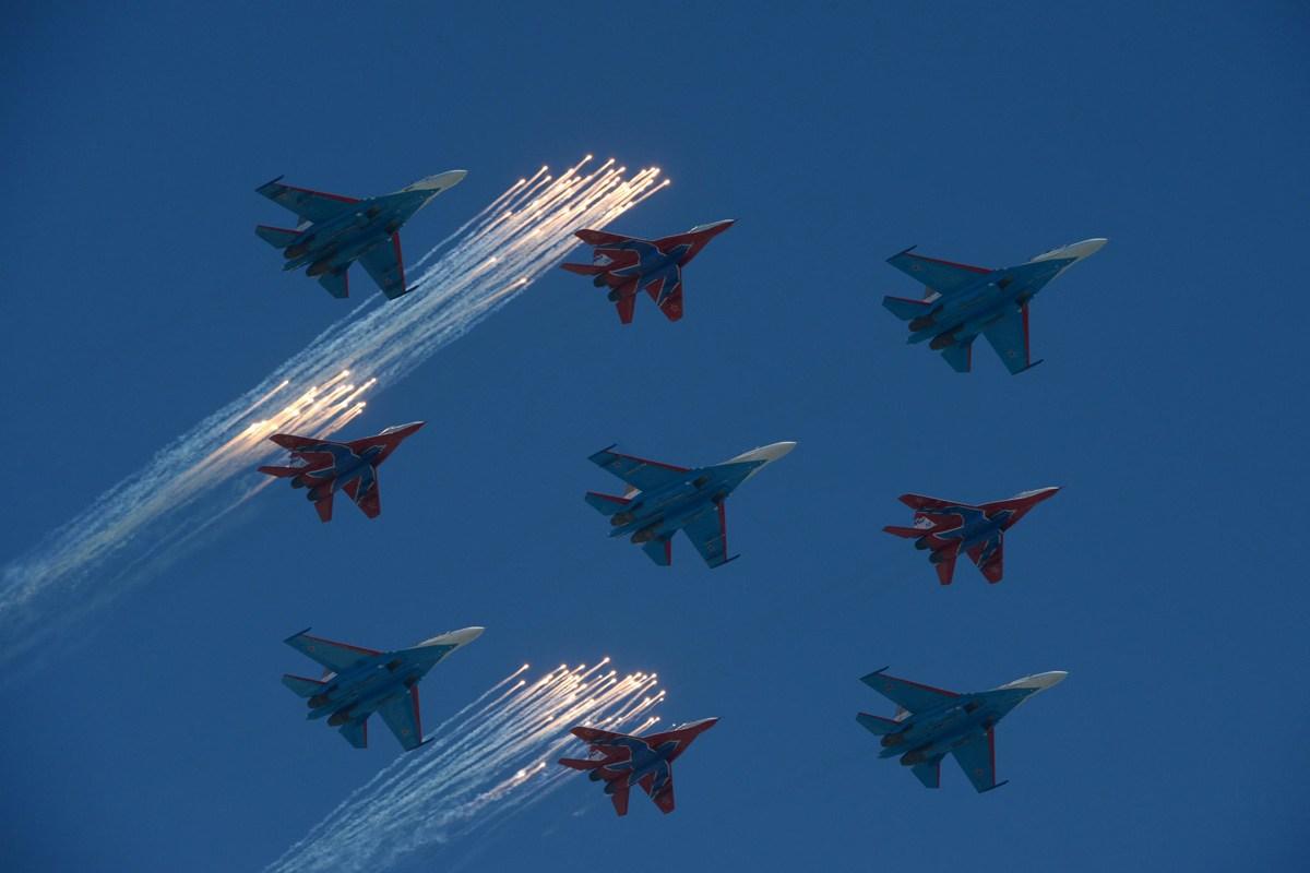 组图16P:莫斯科举行胜利日阅兵式 主力装备齐出动