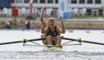 赛艇男子双人单桨 新西兰夺金