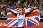 自行车女子个人全能:英国摘金